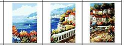 Italy Paint By Numbers Kit For Adults And Kids Set Of 3 - Fast Free Shipping