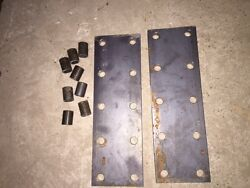 2 Farmall H M Sh Sm Mta Ihc Tractor 10 Hole Fender Extension Brackets Spacers
