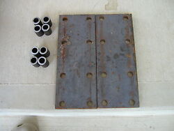 2 Farmall H 460 560 350 M 300 Ih Tractor 8 Hole Fender Spacer Plates And 8 Risers