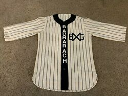 Vintage Authentic Ebbets Field Flannels Jersey Bacharachs Medium Wool
