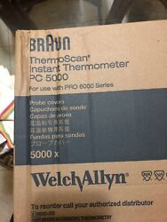 5000 Probe Covers Braun Welch Allyn Pc 800 Ear Thermometer For Proscan 6000