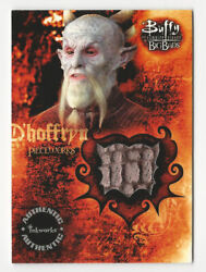 Andy Umberger As D'hoffryn Buffy The Vampire Slayer Big Bads Costume Card Pw3