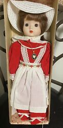 New Schmid Gigi Doll House Musical Porcelain Doll Mint 18 Collectible With Box