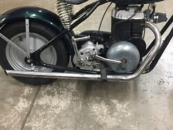Original Mustang Pony Motorcycle Scooter Exhaust Pipe