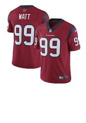 Nike Jj Watt 99 Vapor Untouchable Limited Jersey Red And White Nwt Stitched