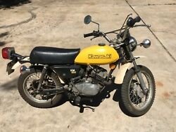 1979 Kawasaki Km100- Andnbspown A Piece Of History With This Completely Original Km100