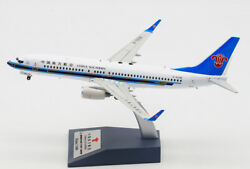 1200 Inflight China Southern Boeing 737-800 Passenger Airplane Diecast Model