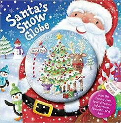 Santaand039s Snow Globe Illustrated By Ned Taylor Brand New Hardcover Igloo Books