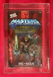 He-man Sdcc Excl 1000 Of 1000 Afa-85 Motu 200x He-man Masters Of The Universe