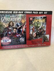 Marvels The Avengers Blu-ray Dvd And The Adventures Graphic Novel Gift Set