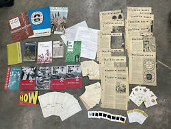 Vintage Lot Of 1960and039s 1970and039s Bsa Boy Scouts Of America Troop Manuals Literature