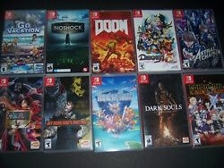 AUTHENTIC amp; ORIGINAL Replacement Case Box Nintendo Switch Games MANY TITLES