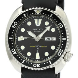 Seiko Diver Stainless Steel Rubber 6306-7001 Self-winding Menand039s Watch[b1210]