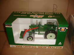 1/16 Oliver 770 Tractor With Ni 504 Loader - 2008 World Pork Expo