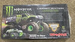 Nib Sealed Rare Traxxas 1/10 Monster Energy Stampede Limited Edition Rc Truck