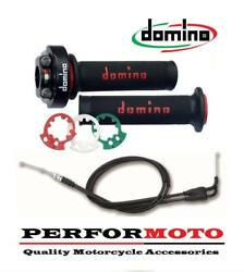 Domino Xm2 Quick Action Throttle Kit With Universal Cable To Fit Ch Racing Bikes