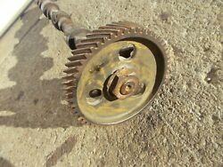 Farmall 400 450 Diesel Tractor Engine Motor Camshaft Cam Shaft And Drive Gear