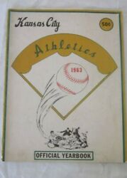 Kansas City Athletics 1963 Official Yearbook - Good Condition Some Wear