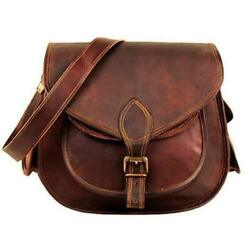 Bag Leather Goat Messenger Women Vintage S Handmade New Pure Purse Natural New $37.71