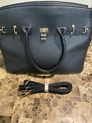 Large Black Tote Purse Hand Bag with Removable Straps $7.00
