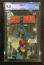 Cgc 9.2 New Batman 313 1st Tim Fox Timothy Future State Two-face Catwoman Nm-