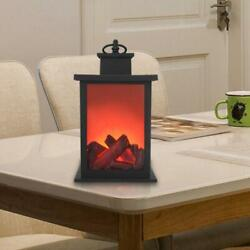 Portable Electric Fireplace Space Heater Stove Log Flame Free Standing Quality