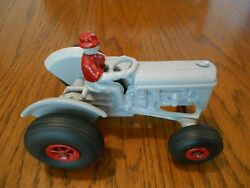 Custom Antique 1941 Arcade 116th Scale Ford 9n Tractor 7200 Cast Iron Used