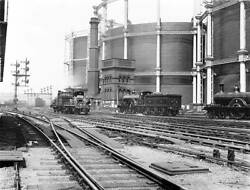 Old Train Photo Points And Signals At St Pancras Junction, London, C 1900 2