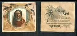 1888 N36 Allen And Ginter American Indian Chiefs Red Shirt     3010