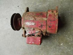 Farmall Ih H M Tractor Working 6v Generator Good Drive Pulley