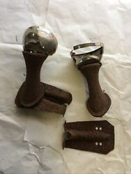 1933 -1934 Ford Tail Light Stands And Inner Fender Brackets Truck Coupe Sedan