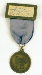 Vintage Peoria Annual Coin Club Convention Badge Medal 1973 Tommy Thompson