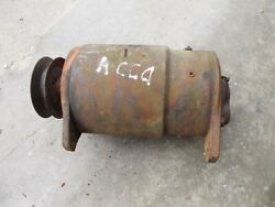 Allis Chalmers Ca Tractor Working 12v Generator W/ Drive Pulley