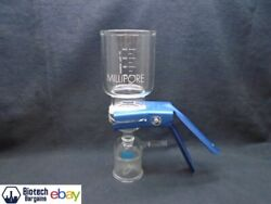 Millipore 300ml Glass Classic Fritted Vacuum Filtration Holder Kit 47mm No Flask