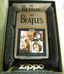 Vintage 2011 New In Box The Beatles Let It Be Zippo Lighter From Israel
