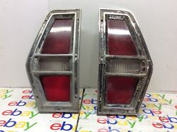 72 73 74 75 76 77 Ford Pinto Wagon Tail Light Set Right And Left Oem