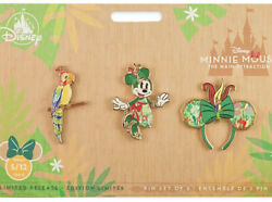 Disney Minnie Mouse Main Attraction May Pins Tiki