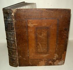 The Iliad Of Homer Translated By Pope Contains 1 To 4 Books - 1715 Hardback