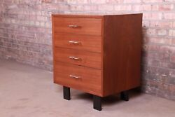 George Nelson For Herman Miller Walnut Bachelor Chest Newly Refinished