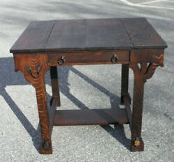 Stickley Brothers Shop Of The Crafters Mission Oak Desk 3280 Unusual Style