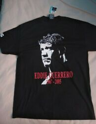 Official Wwe Eddie Guerrero Tribute 1967-2005 Large T-shirt - With Tags