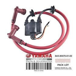 Yamaha Oem Ignition Coil Assembly 64x-85570-01-00 Gp800 1998 1999 2000 2001