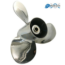 Stainless Steel-outboard-propeller 9-1/4x12 Pitch For Honda 8-20hp