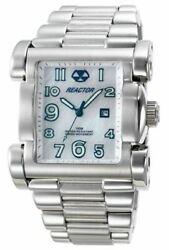 Reactor 83005 Ion Mother Of Pearl Dial Stainless Steel Watch