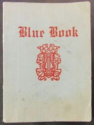 Storyville Blue Book 1913 Original Guide To Prostitution New Orleans Louisiana