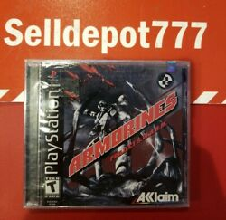 Armorines Project S.w.a.r.m. Sony Playstation 1, 2000 Brand New