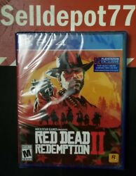 Brand New Red Dead Redemption 2 Xbox One Or Ps4