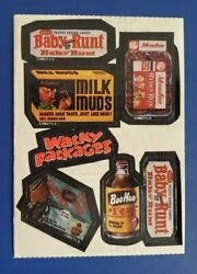 1983 Topps Wacky Packages Room Service Stickers @@ Rare @@