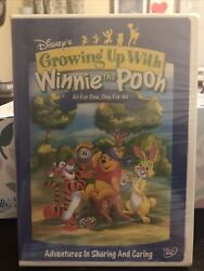 Disneyand039s Growing Up With Winnie The Pooh All For One One For All Dvd 2005