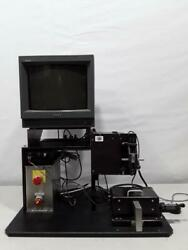Custom Built Uv Curing Light System With Sony Pvm-14n6u Color Video Monitor